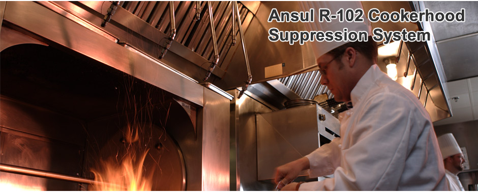 Ansul R-102 Cookerhood Suppression System